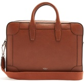Mulberry Belgrave grained-leather briefcase