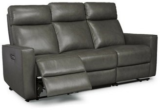 Pell Leather Reclining Sofa Latitude Run