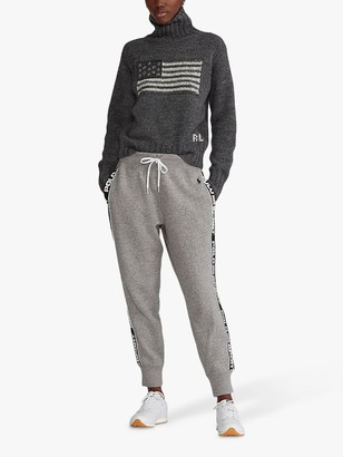 Ralph Lauren Polo Ankle Jogger Trousers, Grey