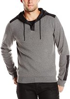 Kenneth Cole New York Kenneth Cole Men's Ls Pullover Hdy W/Nyl