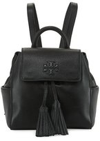 Tory Burch Thea Mini Leather Backpack w/ Tassels, Black