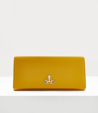 Vivienne Westwood Pimlico Long Card Holder Yellow
