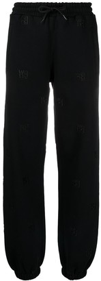 Alexander Wang Logo Embroidered Track Trousers