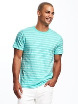 Old Navy Striped Slub-Knit Tee for Men