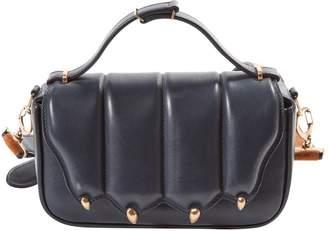Marco De Vincenzo \N Navy Leather Handbags