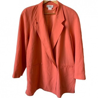 Georges Rech Pink Wool Jacket for Women Vintage