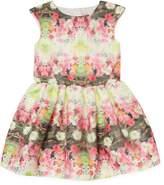 Halabaloo 3D Print Garden Dress