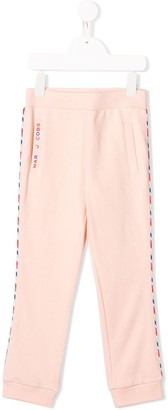 Little Marc Jacobs Contrast Piped Track Pants