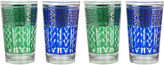 One Kings Lane S/8 Moroccan Tea Glass, Blue/Green