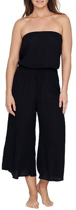 Elan International Strapless Jumpsuit Cover-Up