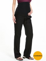 Very MATERNITY Linen Mix Trousers