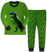 Kidslove Airplane Boys Pajama Sets 100% Cotton Sleepwear O-neck