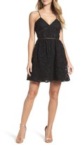 BB Dakota Women's Sutton Lace Fit & Flare Dress