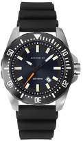 Accurist Divers Style Men's Black Silicone Strap Watch