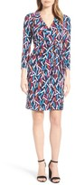 Anne Klein Women's Print Wrap Dress