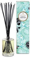 Voluspa Linden & Dark Moss 6-Ounce Fragrant Oil Embossed Diffuser