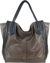 Oryany Ruby Colorblock Leather Tote Bag