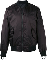Helmut Lang reflective reversible bomber jacket - men - Nylon/Polyester/Polyurethane/Cotton - M