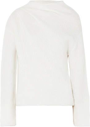 Giorgio Armani Asymmetric Cashmere-blend Sweater