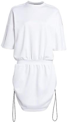 artica-arbox Drawcord Sweatshirt Dress