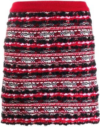 Thom Browne Woven Mini Skirt