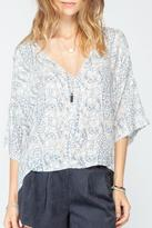 Gentle Fawn Light Print Blouse