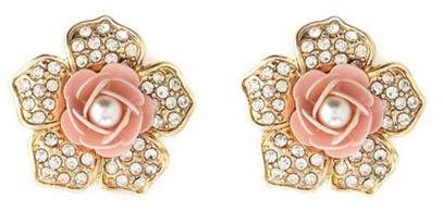 Charlotte Russe Sleeping Beauty Stud Earrings