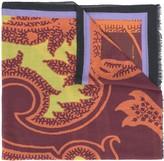 Etro paisley pattern cashmere scarf