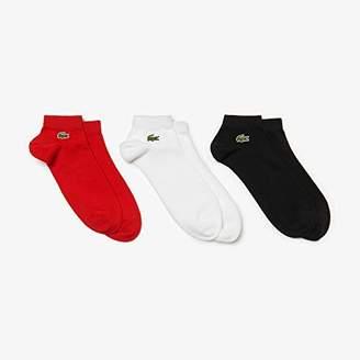 Lacoste Sport Men's Ra1163 Calf Socks,(size: 4) (pack of 3)
