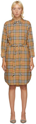 Burberry Beige Isotto Dress