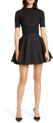 Alexander Wang Fit & Flare Dress