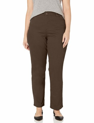 Bandolino Women's Mandie Signature Fit High Rise Straight Leg Jean