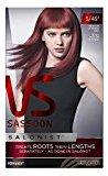 Vidal Sassoon Salonist Hair Colour Permanent Color 5/45 2 Medium Intense Red Kit