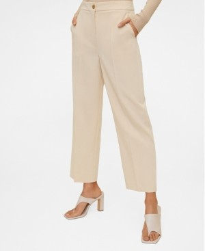 MANGO Suit Cropped Trousers