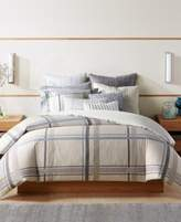 Hotel Collection Modern Plaid Twin Comforter, Created for Macy's