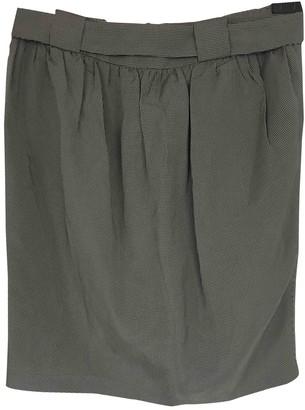 Martin Grant Silk Skirt for Women