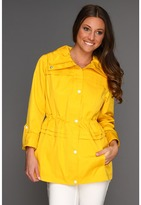 Jessica Simpson Anorak w/ Roll-Up Sleeve (Banana) - Apparel