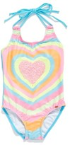 Pilyq Toddler Girl's Embellished One-Piece Swimsuit