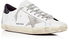 Golden Goose Unisex Superstar Leather Low-Top Sneakers