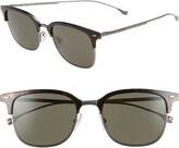 BOSS 53mm Special Fit Semi Rimless Sunglasses