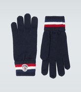 Thumbnail for your product : Moncler Wool ribbed gloves
