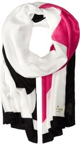 Kate Spade Suit of Cards Oblong Scarf