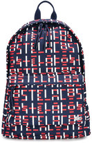 Lacoste Kids printed backpack