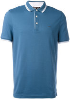 Michael Kors contrast trim polo top - men - Cotton - S