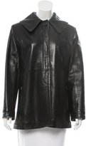 Marc Jacobs Leather Zipped Jacket