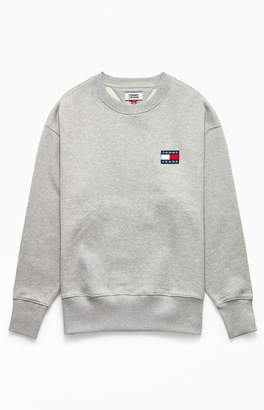 Tommy Jeans Badge Crew Neck Sweatshirt