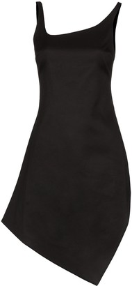 Coperni Motion asymmetrical mini dress