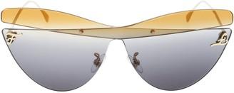 Cat Eye Fendi Eyewear Oversize Sunglasses