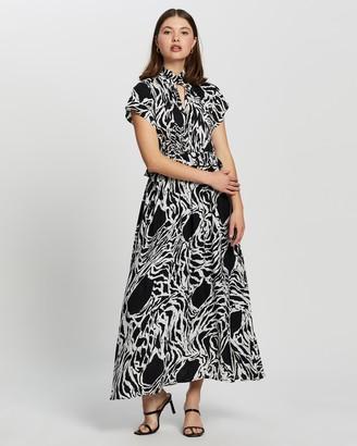 Vero Moda Women's Black Maxi dresses - SS Ankle Dress - Size XS at The Iconic