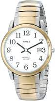 Timex Men's T2H311 Easy Reader Expansion Band Watch